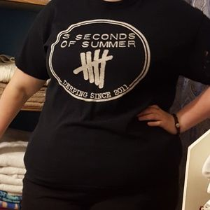 5 Seconds of Summer Concert Tee